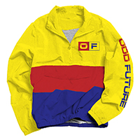 OF LOGO RED/YELLOW/ROYAL ANORAK