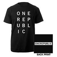 OneRepublic Block T-Shirt