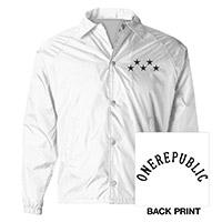 OneRepublic White Windbreaker