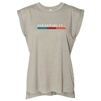 OneRepublic Women's Flowy Muscle T-Shirt