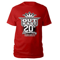 OutKast 20th Anniversary Event Tee