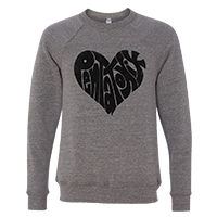 Heart Logo Crewneck Sweatshirt