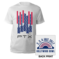 Hollywood Bowl Flag Event Tee