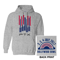 Hollywood Bowl Flag Event Pullover Hoodie