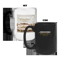A Pentatonix Christmas Deluxe Heat Reveal Mug