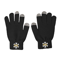 Touch Screen Snowflake Gloves