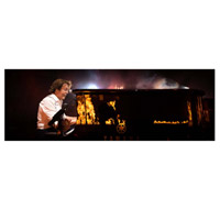 Paul McCartney Piano Fire Lithograph