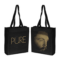 'Pure McCartney' Black Tote Bag