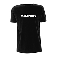 McCartney Type Black T-shirt