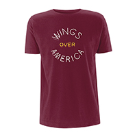 Wings Over America Burgundy T-shirt