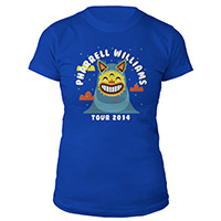 Pharrell Tour Juniors Tee