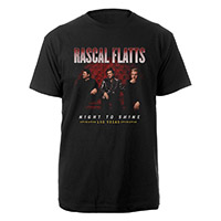 Rascal Flatts Night to Shine Las Vegas Tee