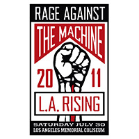 L.A. Rising 2011 Event Poster