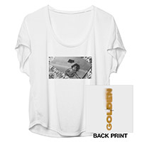Romeo Santos Golden Dolman T-Shirt