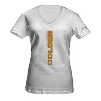 Romeo Santos Golden Album Cover Women's V-Neck T-Shirt