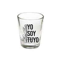 Romeo Santos Shot Glass