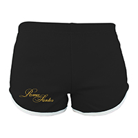 Romeo Santos Golden Running Shorts