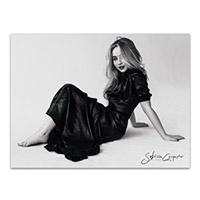 "Sabrina Carpenter Black and White 24""x 18"" Poster"