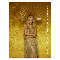 Shakira El Dorado World Tour Poster