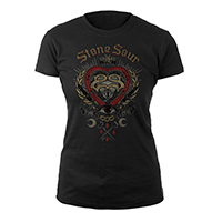 StoneSour Heart Logo Women's Tee