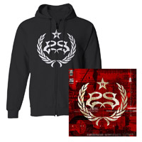 Stone Sour Hydrograd Hoodie and Vinyl Bundle