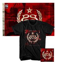 Stone Sour Hydrograd Tee Flag and CD Bundle