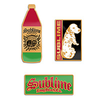 Sublime Enamel Pin Set