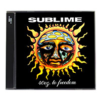 Sublime 40oz to Freedom CD Scale 100g