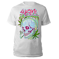 Sublime White Skull Tee