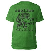 Robbin The Hood Green Heather Tee