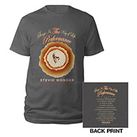 Songs In the Key Of Life Performance Tee Charcoal