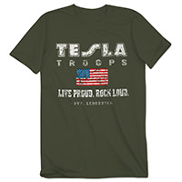 Tesla Troops Tee