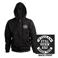 Still Kickin' Ass Logo Zip Hoodie