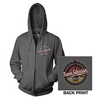 Charcoal Gray TSO Zip-Up Hoodie