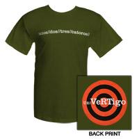 Olive Green Vertigo T-shirt
