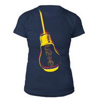 U2ie Hanging Lightbulb Women's T-Shirt
