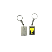 U2ie Light Bulb Keychain