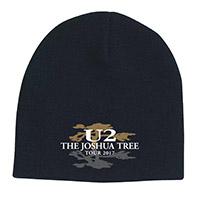 The Joshua Tree Tour 2017 Logo Beanie
