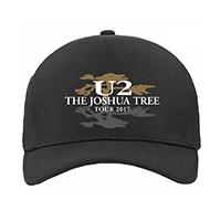 The Joshua Tree Tour 2017 Logo Cap
