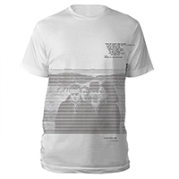 U2 The Joshua Tree Digital White T-shirt