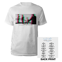 U2 eXPERIENCE + iNNOCENCE US Tour White Unisex T-shirt