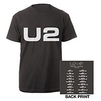 U2 eXPERIENCE + iNNOCENCE US Tour Charcoal Unisex T-shirt