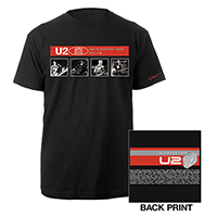 U2 Elevation Tour Black T