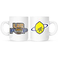 U2 PopMart/Lemon White Mug