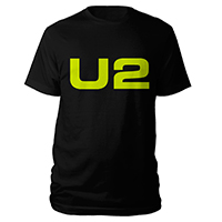 U2 eXPERIENCE + iNNOCENCE European Tour Black Logo Unisex T-shirt