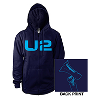 U2 eXPERIENCE + iNNOCENCE Tour Men's Navy Hoody