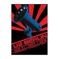 U2 eXPERIENCE + iNNOCENCE Berlin Event Screenprint