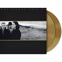 U2 The Joshua Tree Gold 2LP
