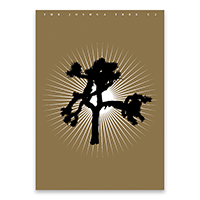 Limited Edition Gold Joshua Tree Screen Print