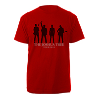U2 The Joshua Tree Tour 2019 Red T-Shirt